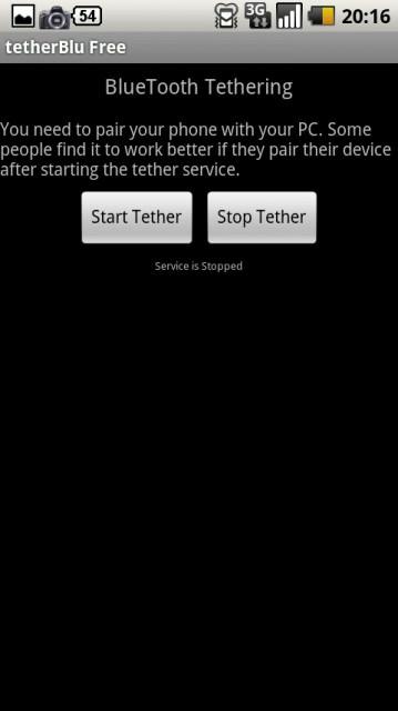 tether blu free