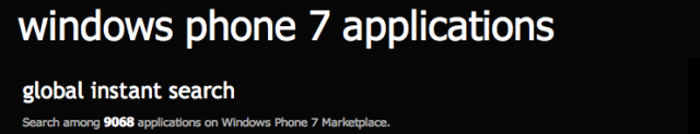windows phone 7, marketplace