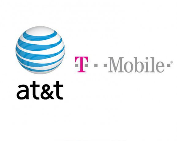 at&t, t-mobile