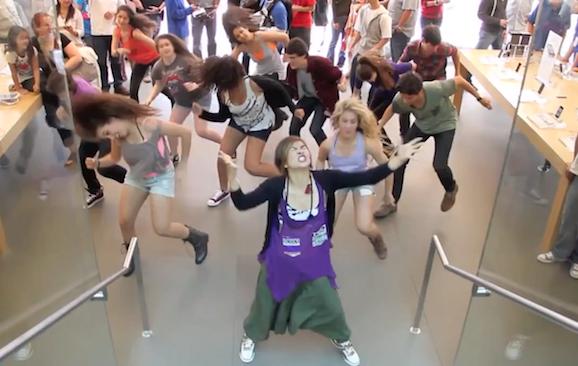 app store dancing