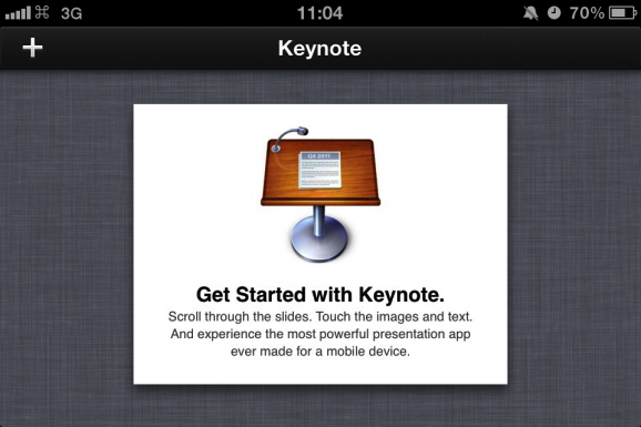 keynote, iphone