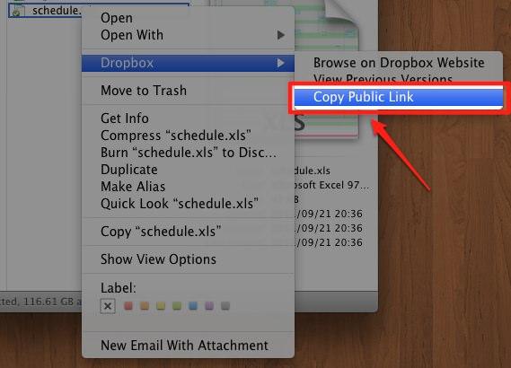 dropbox,ファイル共有