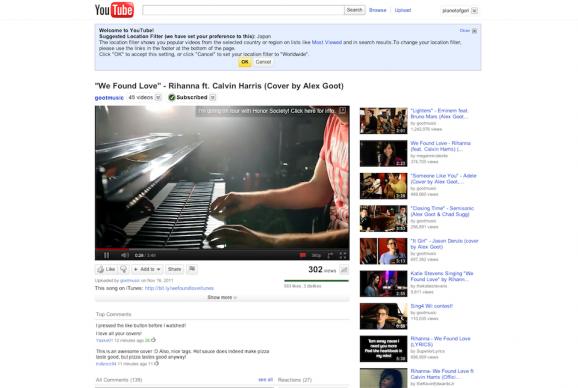 youtube,再生