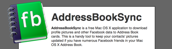 Addressbook sync