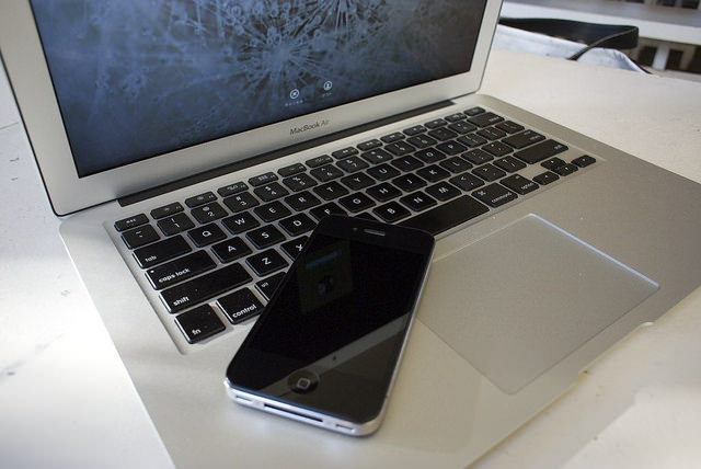 iphone macbook air