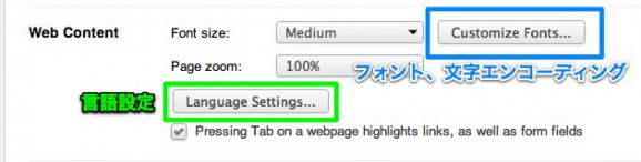 Google Chrome 設定