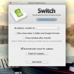 Switch Preferences