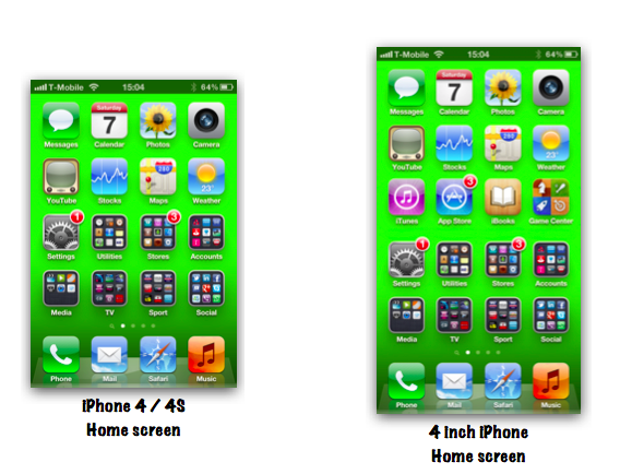 iPhone5 4インチ