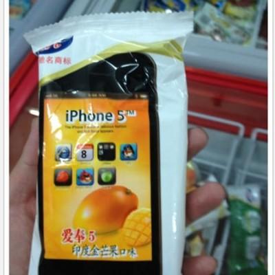 iPhone 5 アイスクリーム