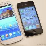 galaxy SIII iphone
