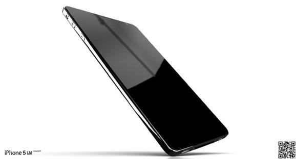 iPhone5 コンセプト リキッドメタル デザイン