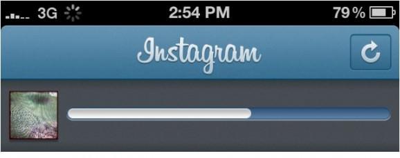 instagram アップロード