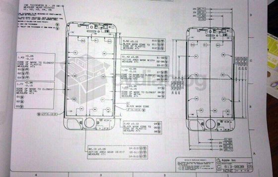iPhone 5 設計書