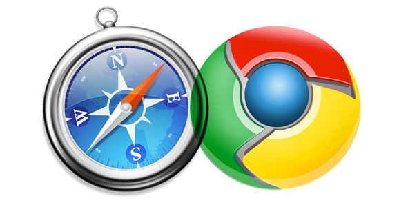 chrome safari