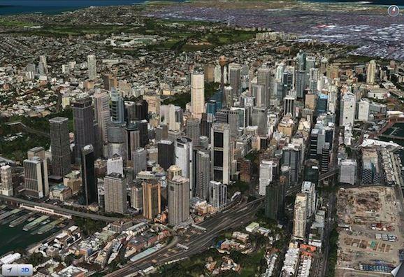 iOS6 maps FlyOver