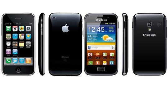 samsung apple