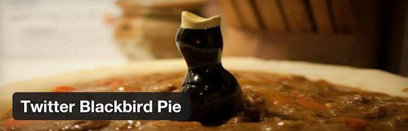 Twitter Blackbird Pie