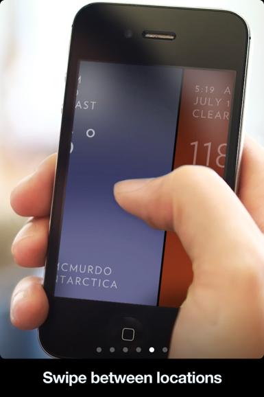 Solar iphone 天気