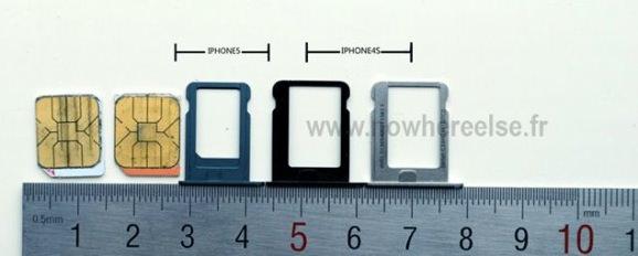 iPhone 5 ナノSIM