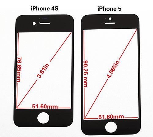 Iphone5 フロントパネル