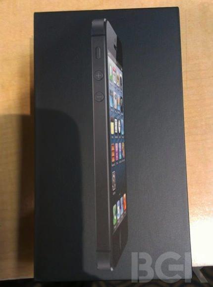 iphone 5 開封