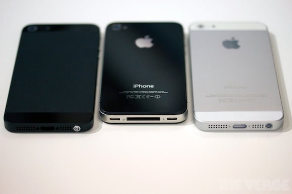 iphone 5 iphone 4s 比較