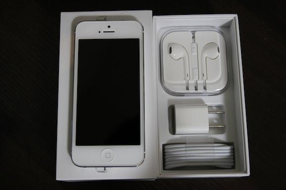 iPhone 5 買った