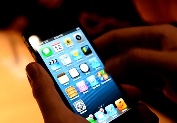 iphone 5 ハンズオン