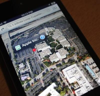Apple 地図アプリ