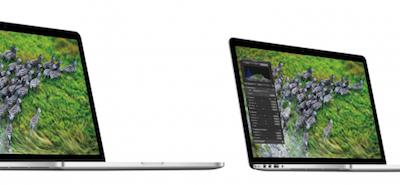 MacBook Pro 13in. Retinaディスプレイ