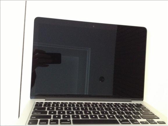 MacBook Pro 13インチ Retinaディスプレイモデル