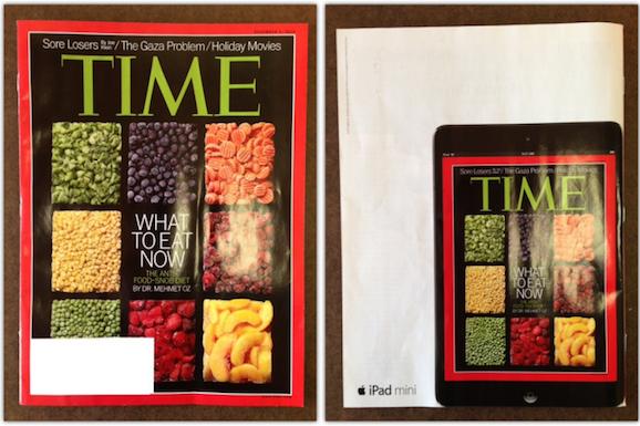 iPad 新聞広告