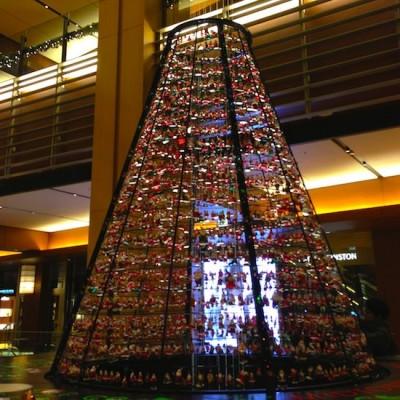 東京ミッドタウンガレリア クリスマスツリー