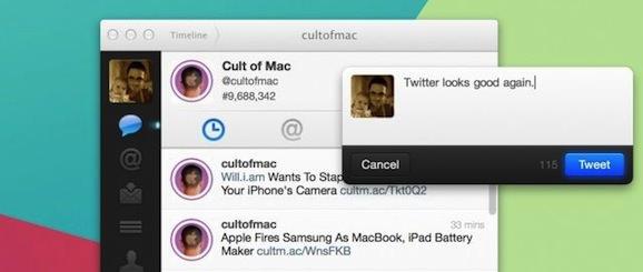 Twitter Mac Retina