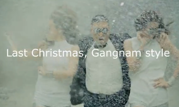 Gangnam Style Last Christmas