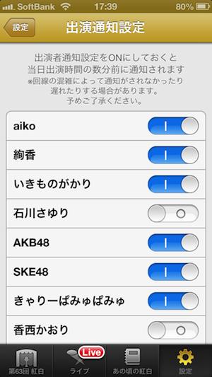 NHK紅白歌合戦2012