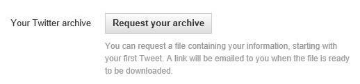 Twitterarchive