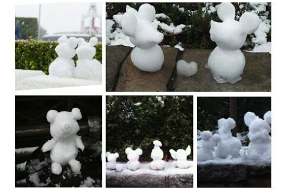 ディズニー 雪だるま