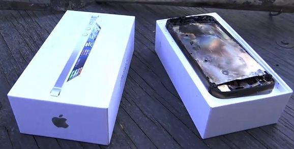 iPhone 5 電子レンジ