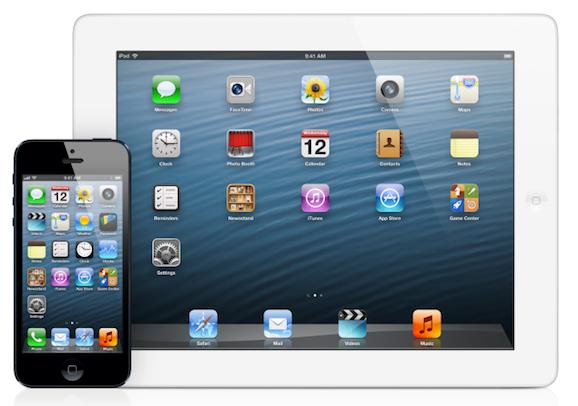 iPhone 5s iPad mini Retina
