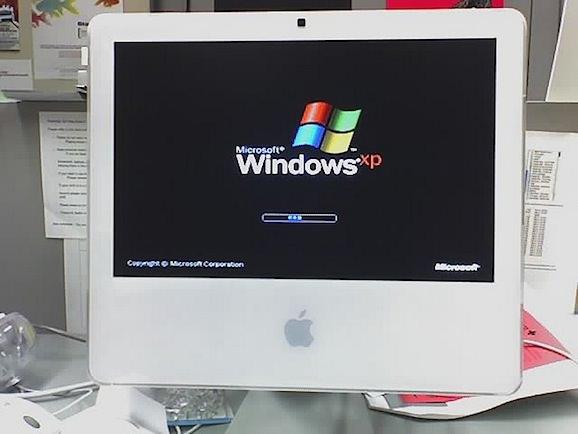 Windows on a mac