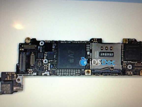 Logic board A7