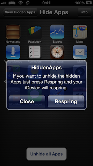 HiddenApps