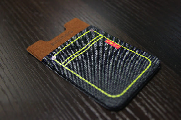 Sinji pouch denim Black