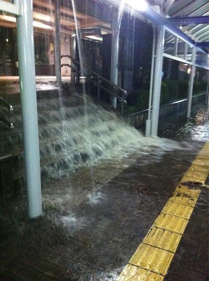 大雨 浸水