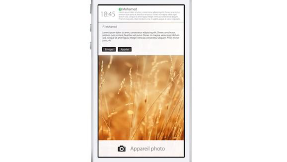 iOS7 lockscreen concept image