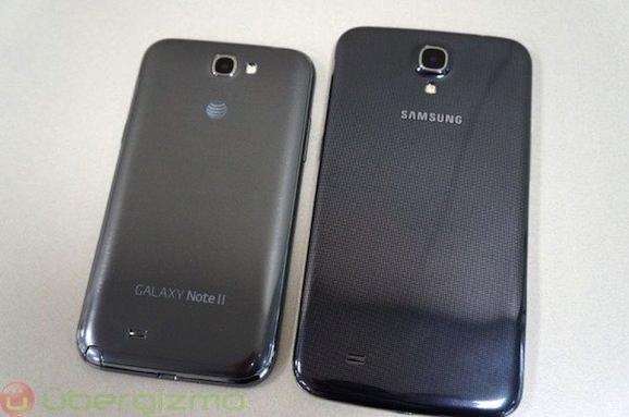 Galaxy Mega サイズ比較