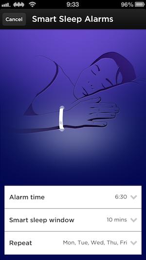 スマートアラーム UP by Jawbone