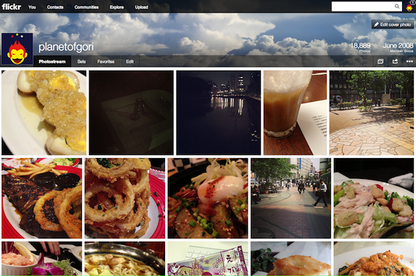 Flickr design renewal