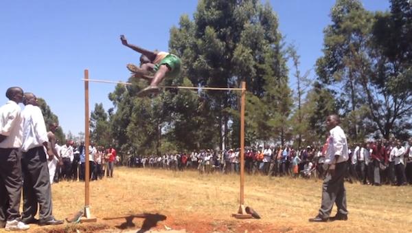 Kenya hight jump